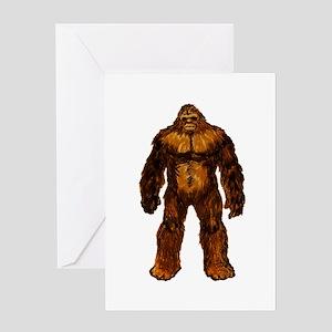 Bigfoot greeting cards cafepress proof greeting cards bookmarktalkfo Choice Image