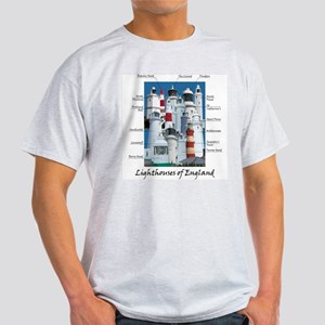 Lighthouses Of England Light T-Shirt