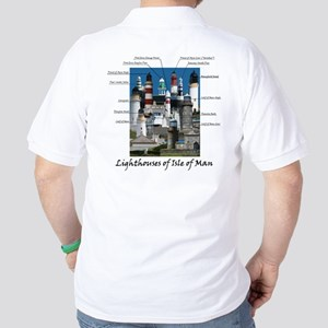 Lighthouses Of Isle Of Man Golf Shirt