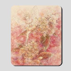 Autumn Ballerina Fairy Mousepad