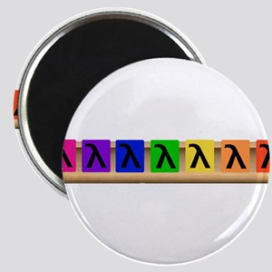 Rack of Lambdas Magnet