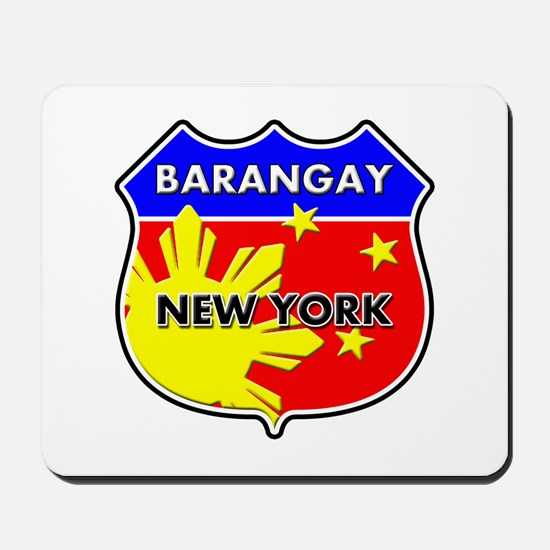 Barangay New York Mousepad