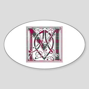 Monogram - MacGregor Sticker (Oval)