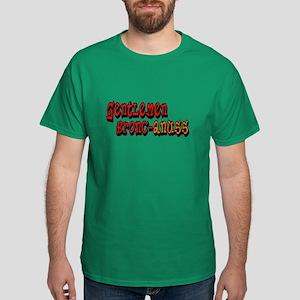 Gentlemen Bronc-anuss Broncos Dark T-Shirt