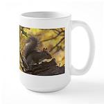 Autumn Squirrel Large Mug