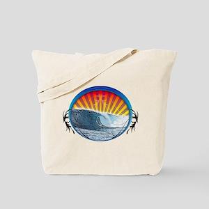 Tattoo Wave Tote Bag