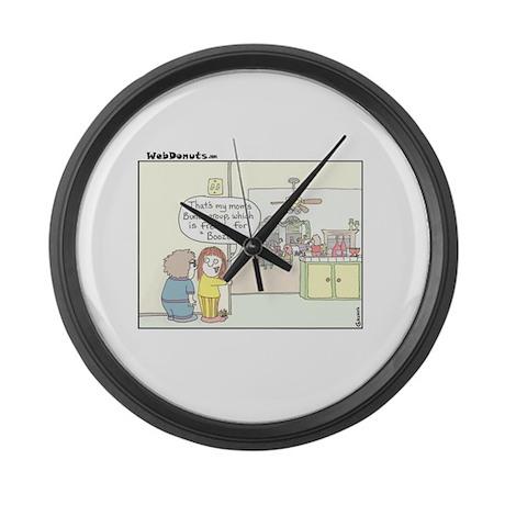Bunco Large Wall Clock