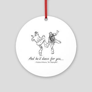 Mr. Bojangles Dance Christmas Ornament