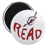 "2.25"" READ Magnet (10 pack)"