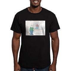 Shadow Enhancement Men's Fitted T-Shirt (dark)