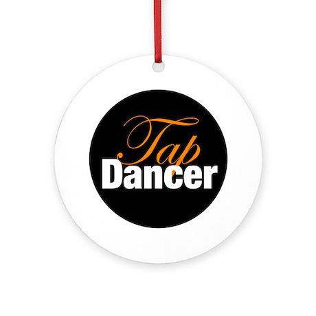 Tap Dancer Christmas Ornament