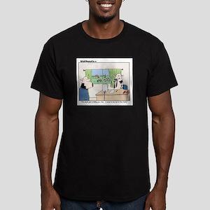 This Desk Job...... Men's Fitted T-Shirt (dark)