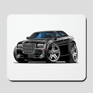 Chrysler 300 Black Car Mousepad
