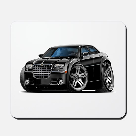 Chrysler 300 Black Car Mousepad