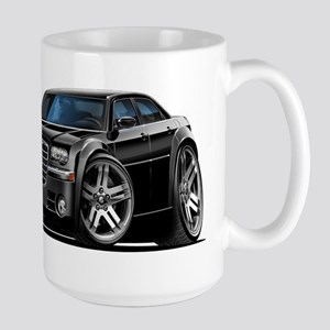 Chrysler 300 Black Car Large Mug