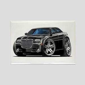 Chrysler 300 Black Car Rectangle Magnet
