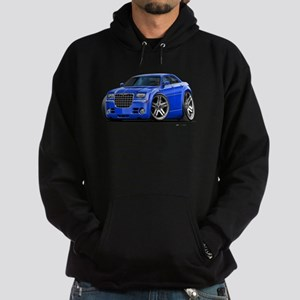 Chrysler 300 Blue Car Hoodie (dark)