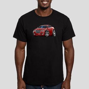 Chrysler 300 Maroon Car Men's Fitted T-Shirt (dark
