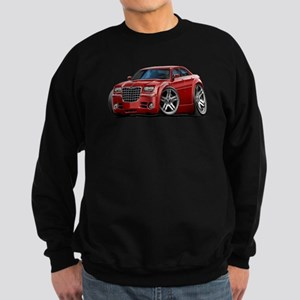 Chrysler 300 Maroon Car Sweatshirt (dark)