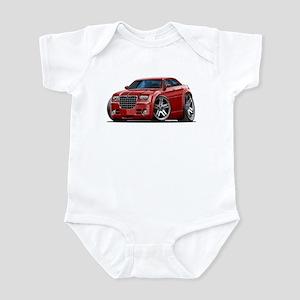 Chrysler 300 Maroon Car Infant Bodysuit