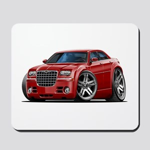 Chrysler 300 Maroon Car Mousepad