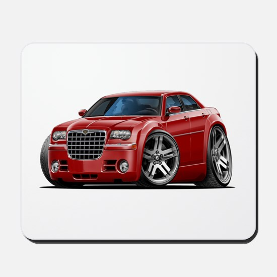 Chrysler 300 Maroon Car Mousepad