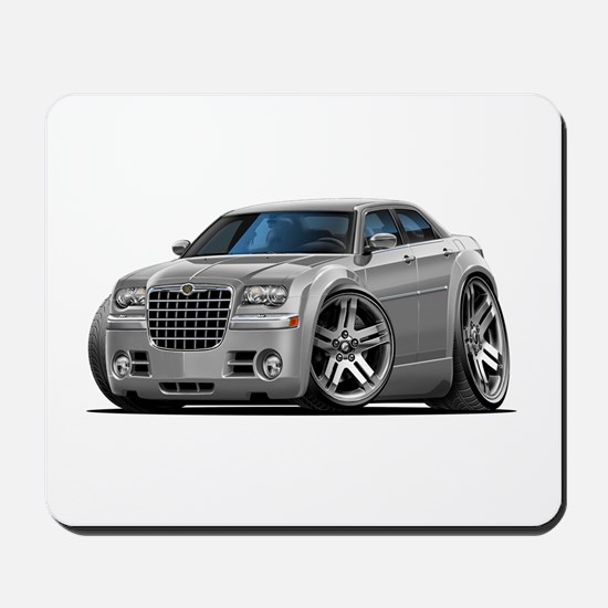 Chrysler 300 Silver Car Mousepad