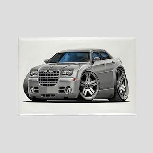 Chrysler 300 Silver Car Rectangle Magnet