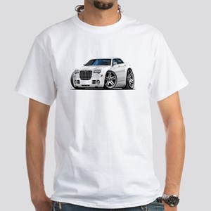 Chrysler 300 White Car White T-Shirt