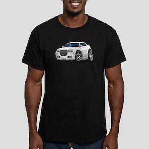 Chrysler 300 White Car Men's Fitted T-Shirt (dark)