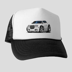 Chrysler 300 White Car Trucker Hat 437ce58f7d25