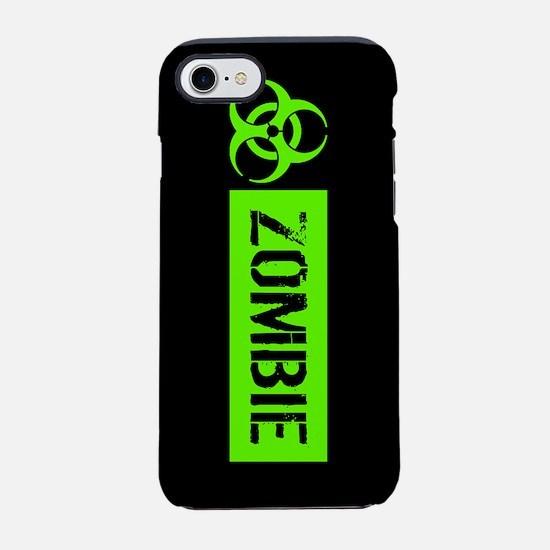 Zombie: Biohazard (Slime Green iPhone 7 Tough Case