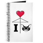 I Love Chihuahua Black Journal