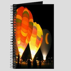Three Glowing Balloons Journal