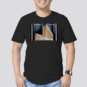 1930's Art Deco Curtis Hotel Men's Fitted T-Shirt