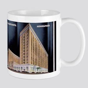 1930's Art Deco Curtis Hotel Mug