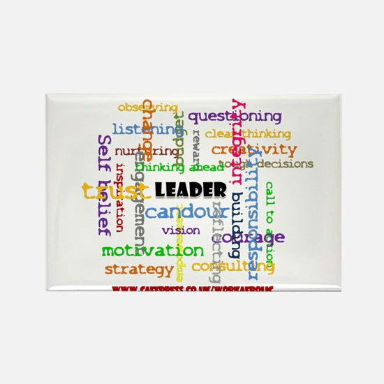 Leadership Traits Colour Rectangle Magnet(10 pack)