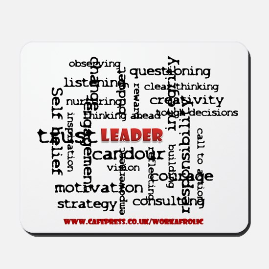 Leadership Traits Mousepad