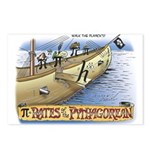 Pi-rates Postcards (Package of 8)