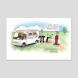 Ice Cream Pi Mini Poster Print
