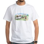 Ice Cream Pi White T-Shirt