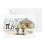 Pi Rho Greeting Cards (Pk of 20)