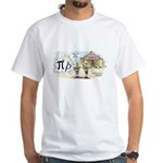 Pi Rho White T-Shirt