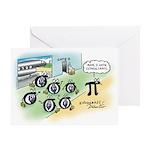 Six Sigmas Greeting Card