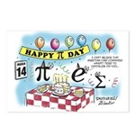 Pi Day Postcards (Package of 8)