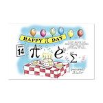 Pi Day Mini Poster Print