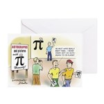 Pi Autograph Greeting Cards (Pk of 10)