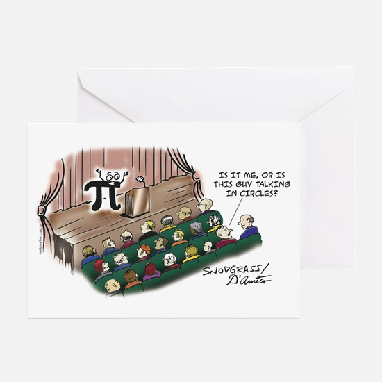 Talking In Circles Greeting Cards (Pk of 10)