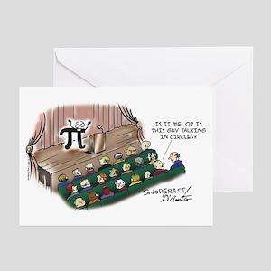 Talking In Circles Greeting Cards (Pk of 20)