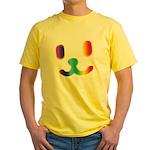 1 Smiley Rainbow Yellow T-Shirt